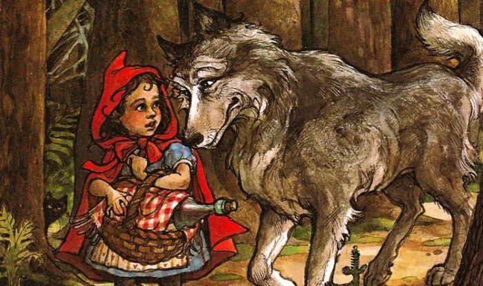 Piroska és a farkas