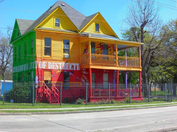 Színes ház