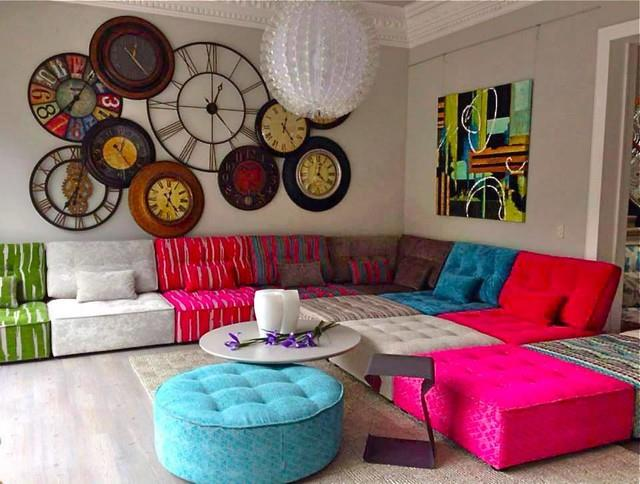 Színes kanapé