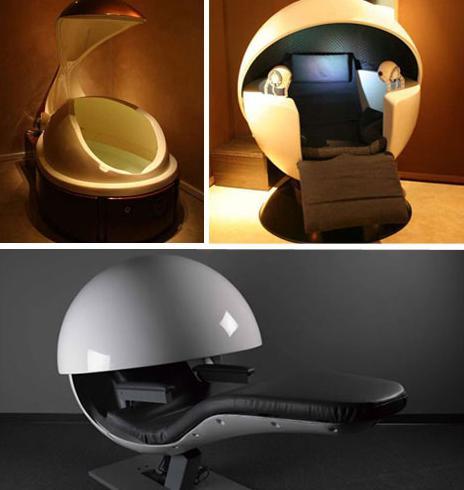 Futurisztikus ágyak